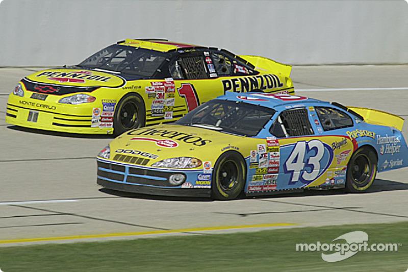 John Andretti and Kenny Wallace