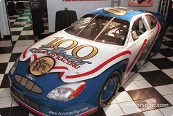 Ford Motor Company introduced the special edition NASCAR Ford Taurus, developed by Ford with the intention of being raced in NASCAR competition in 2001, during an automotive press briefing