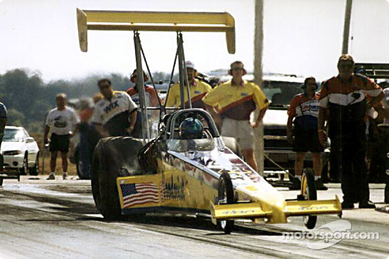 Bobby Lagana had a major engine explosion in qualifying