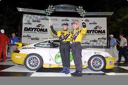 Shelby Wellman et David Haskell à Daytona après la finale Grand-Am Cup