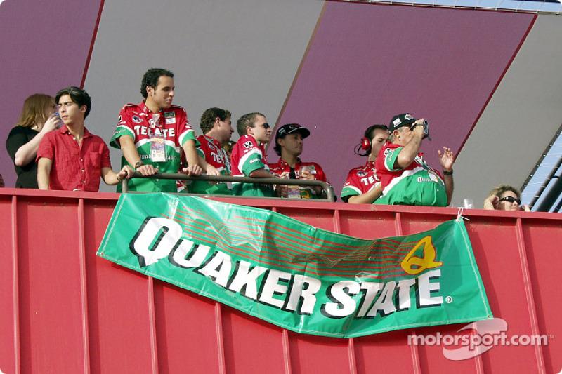 Fernandez Racing's guests