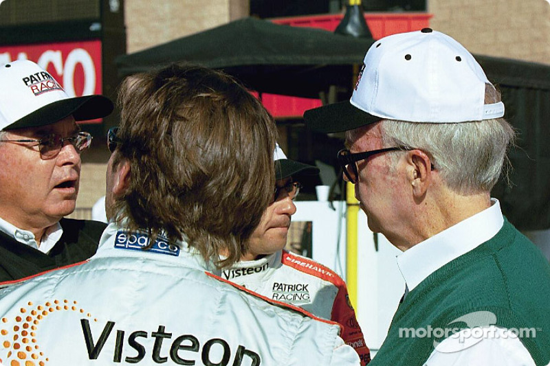 Jimmy Vasser and Roberto Moreno