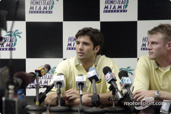 Press conference for Christian Fittipaldi