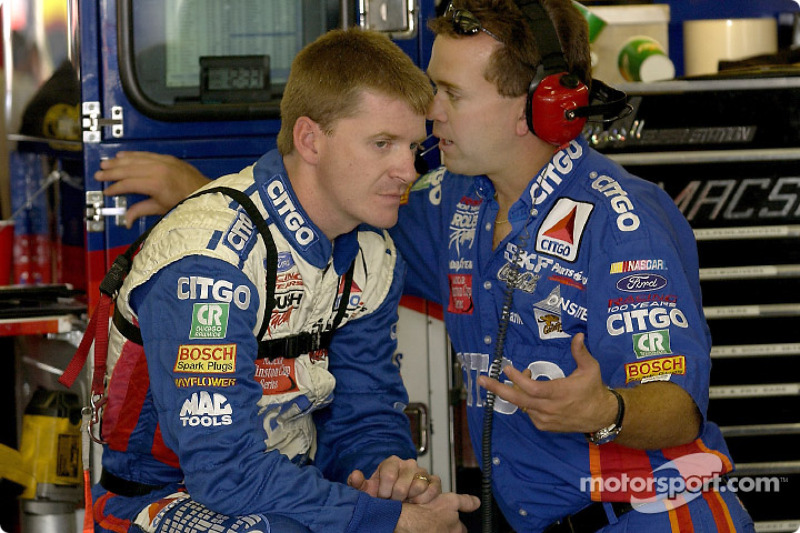 Jeff Burton and crew chief Frank Stoddard