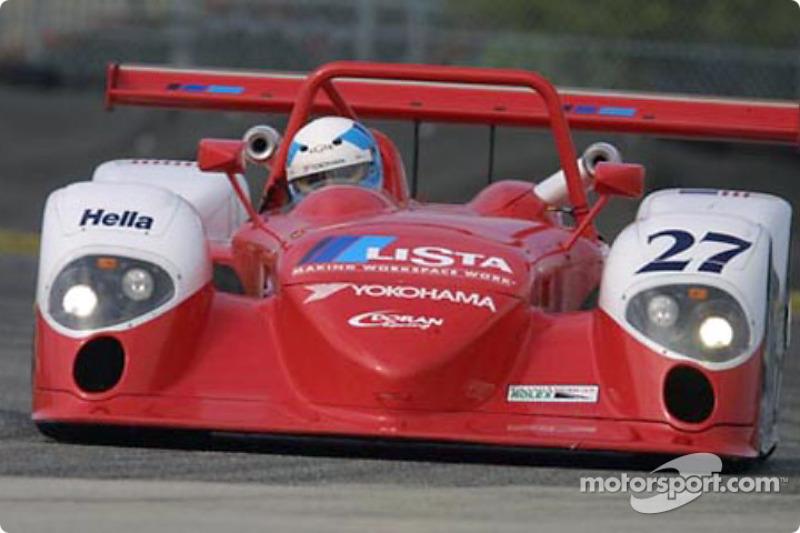 Fredy Lienhard pilots the Doran Lista Racing Judd Crawford