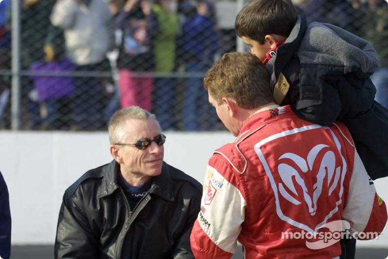 Mark Martin and Bill Elliott
