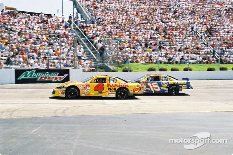 Kevin Lepage and Michael Waltrip