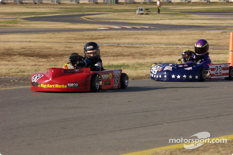 Briggs Junior Sportsman-1-#3-Chance Rice, #52-Matthew OíLeary
