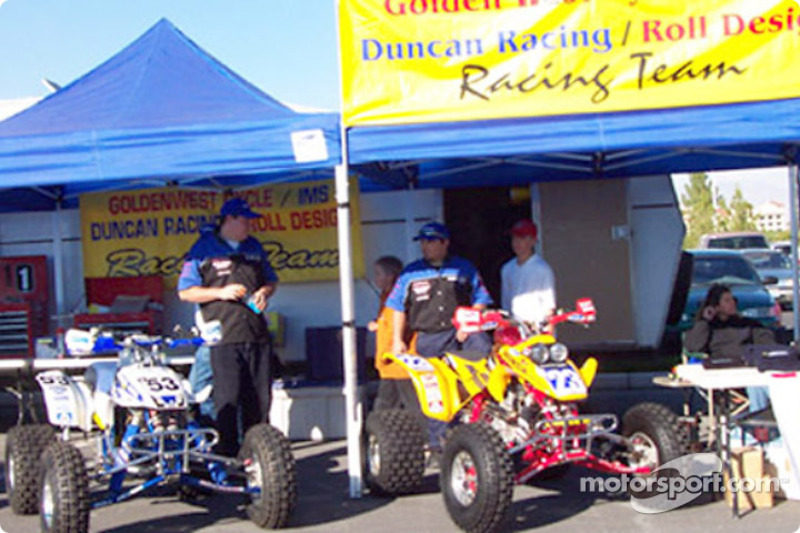 Duncan Racing - Roll Design Quads  contingency row