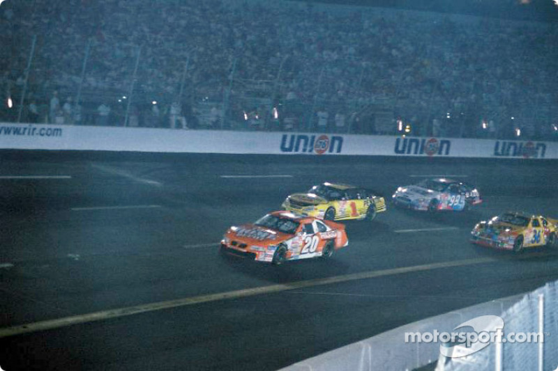 Tony Stewart leading the pack