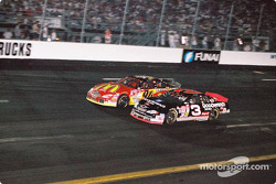 Dale Earnhardt and Bill Elliott