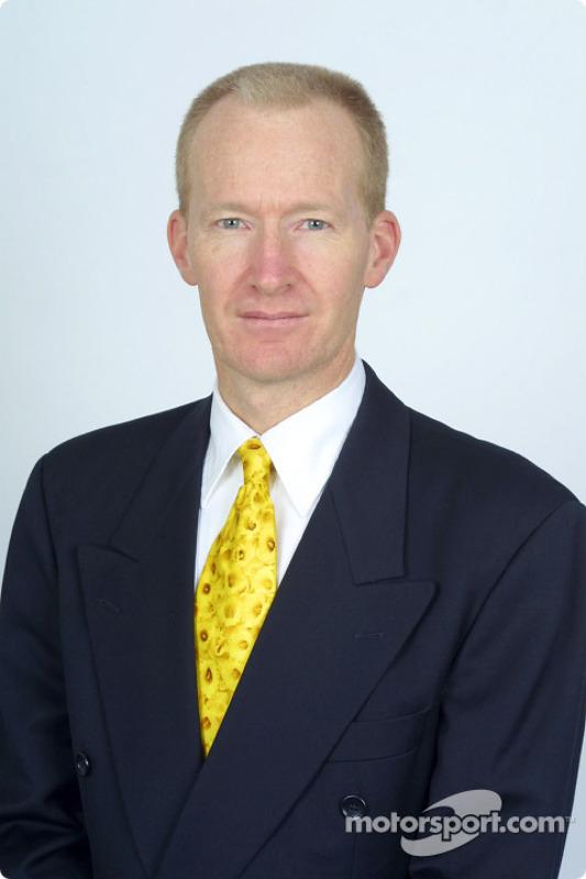 Engineering Director Malcolm Oastler