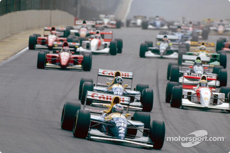 Las mejores fotos del GP de Brasil de 1993: