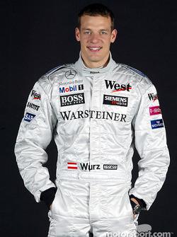 El piloto de pruebas Alexander Wurz