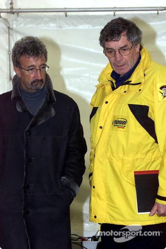 Eddie Jordan and Gary Anderson