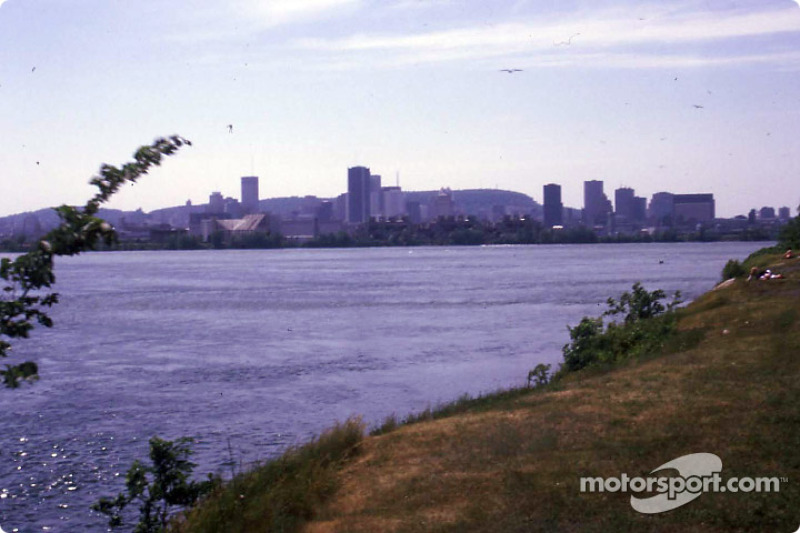 Montreal from Notre-Dame Island