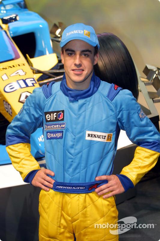 Le pilote d'essais Fernando Alonso