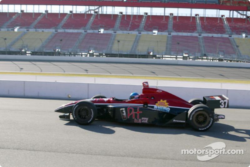 Le débutant John de Vries - #37 Brayton Racing