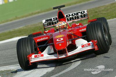 Ferrari February test sessions