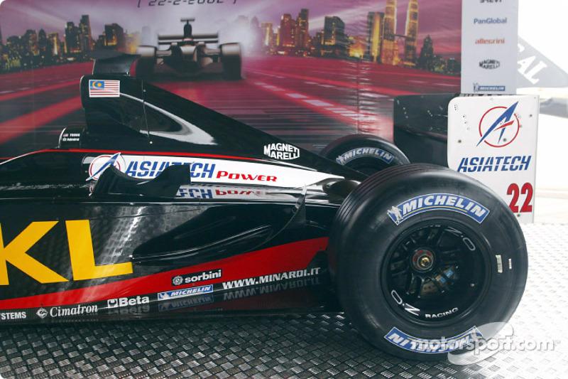 Minardi Asiatech PS02: arrière