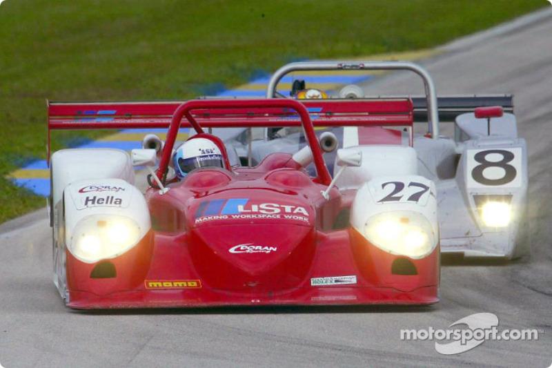 The Doran Lista #27 Judd Dallara won its second-straight Rolex Series race