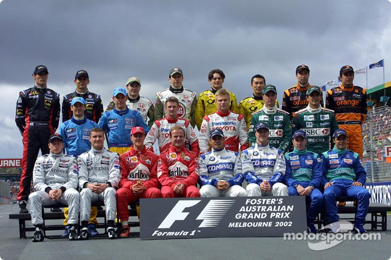 Участники сезона-2002