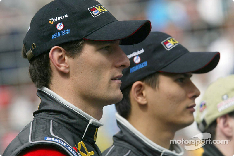 Mark Webber and Alex Yoong