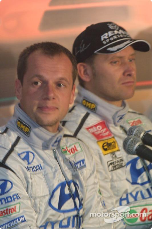 Lancement Hyundai Accent WRC3 : Freddy Loix et Armin Schwarz