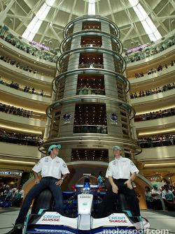Tourisme à Kuala Lumpur : Felipe Massa et Nick Heidfeld
