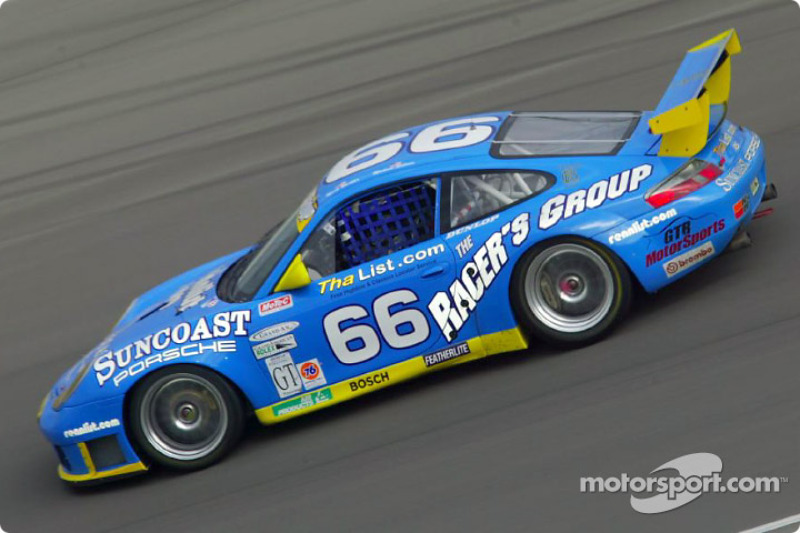The Racer's Group #66 Porsche GT3 R captured its second victory of the season in the GT class