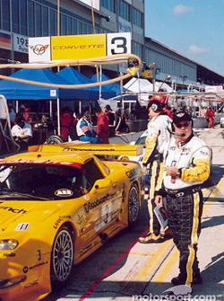 Team Corvette pit area