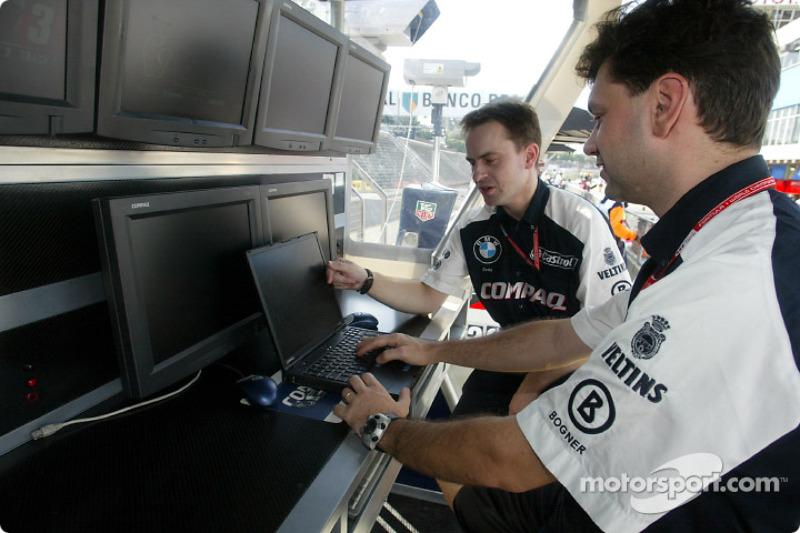 Williams F1 engineers