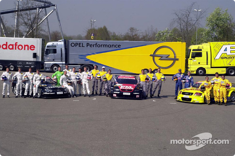The 21 drivers of the 2002 DTM