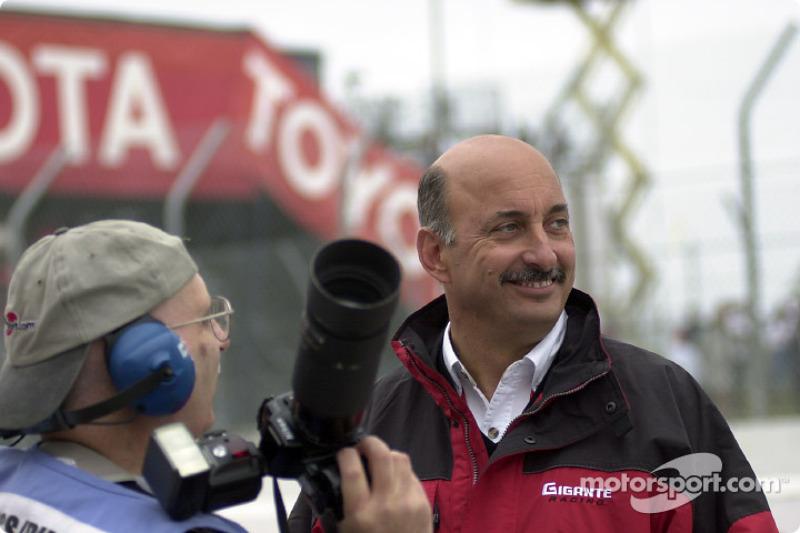 Jack Durbin (Motorsport.com) avec Bobby Rahal