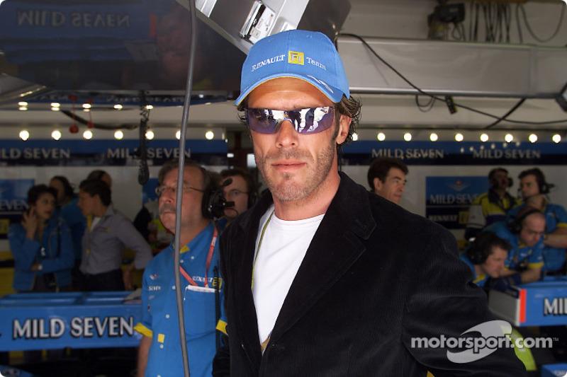 Le cycliste Mario Cipollini