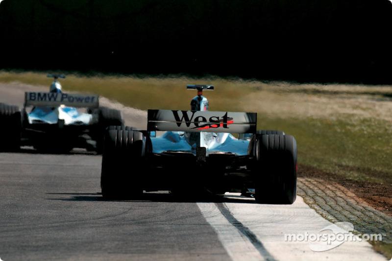 A Williams and a McLaren
