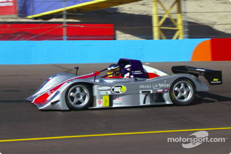 Rand Racing debuted its #7 Nissan Lola during practice
