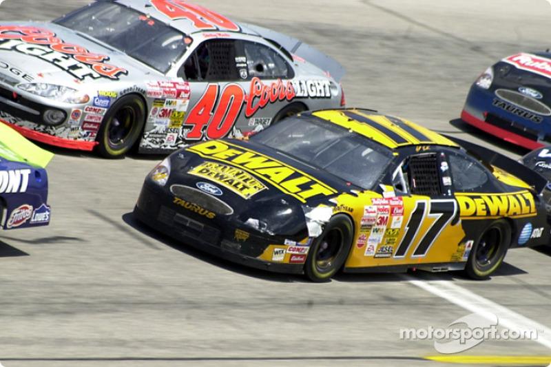 Sterling Marlin y Matt Kenseth