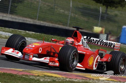 Pruebas de Ferrari en abril