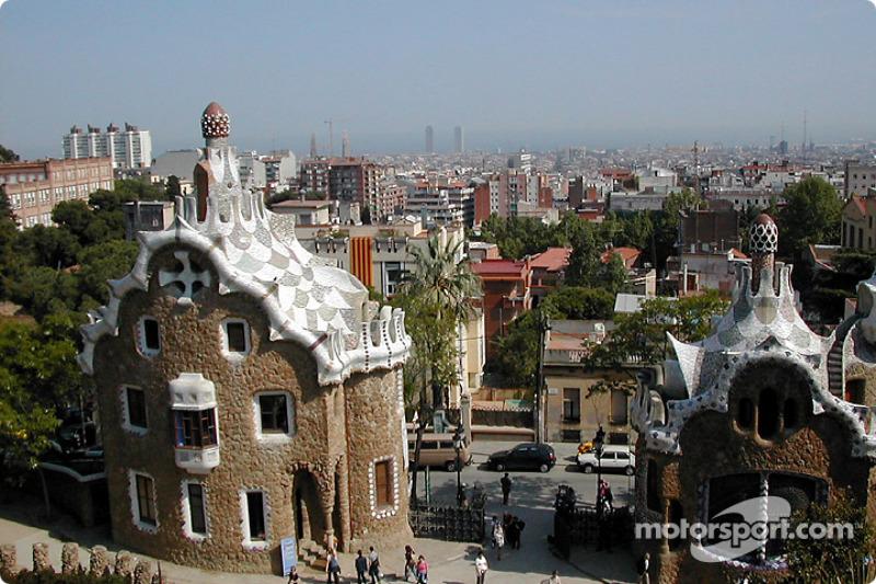 Gruell Park en Barcelona