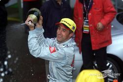 Champagne for Bernd Schneider