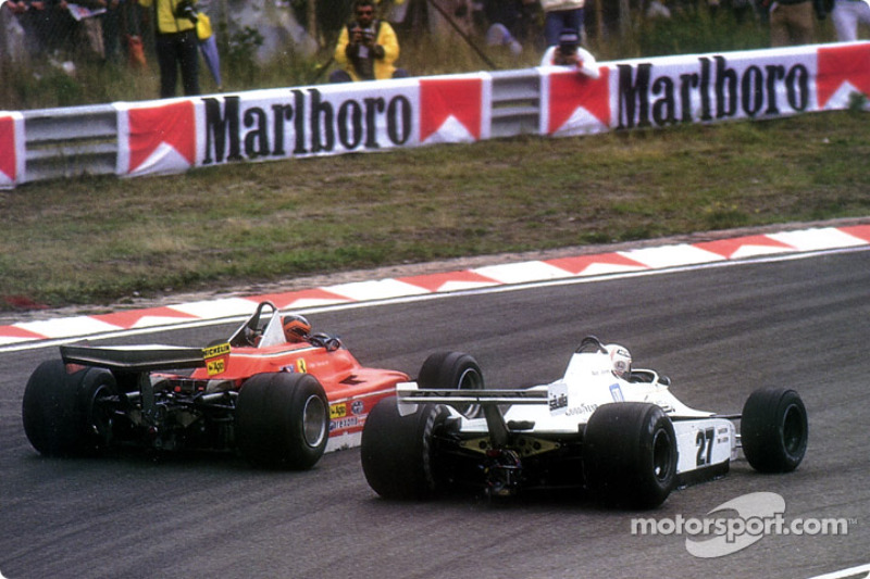 Gilles Villeneuve vs. Alan Jones