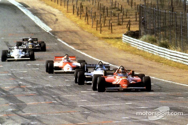 Pendant 70 tours, ils ont tout essayé pour pousser Gilles Villeneuve à la faute, mais ce dernier a remporté son 6e et dernier Grand Prix