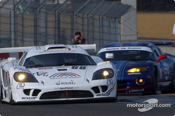 Saleen S7R and Chrysler Viper GTS-R