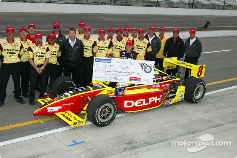 Scott Sharp and Kelley Racing team
