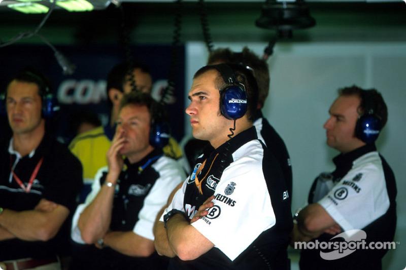 Miembros del equipo de Williams-BMW