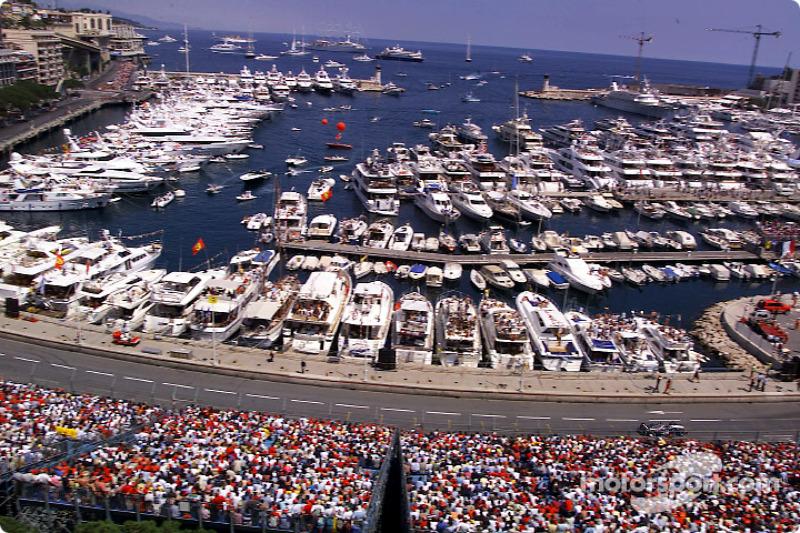 The port of Monaco