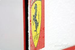 A wet Cavalino Rampante
