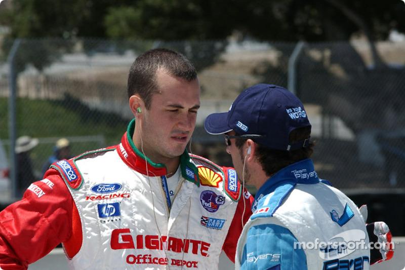 Michel Jourdain Jr. and Alex Tagliani