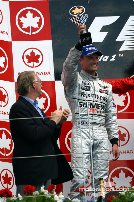El podio: David Coulthard